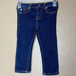 7 For All Mankind toddler girl skinny jeans